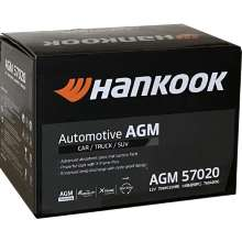 Аккумулятор Hankook AGM Start-Stop Plus 6СТ-70 70 А/ч