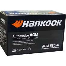 Аккумулятор Hankook AGM Start-Stop Plus 6СТ-80 80 А/ч