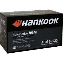 Аккумулятор Hankook AGM Start-Stop Plus 6СТ-95 95 А/ч